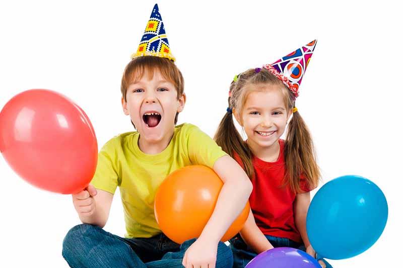Rise Up Athletics children birthday program