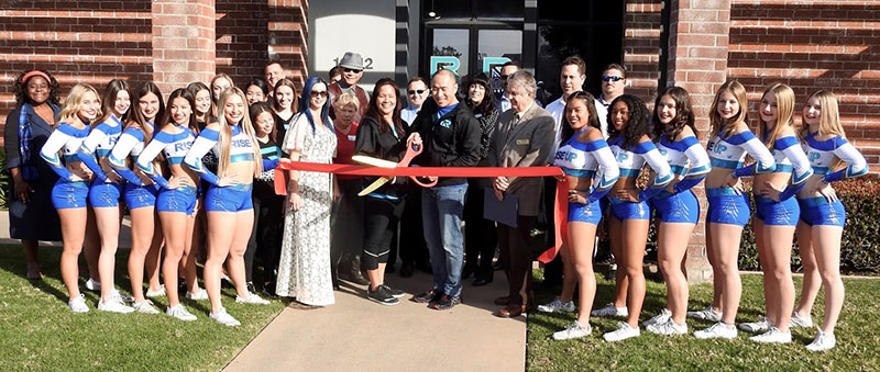 Rise Up Athletics ribbon cutting